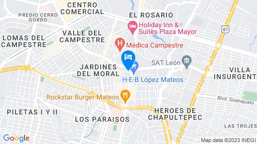 Hotel Campestre Inn Map