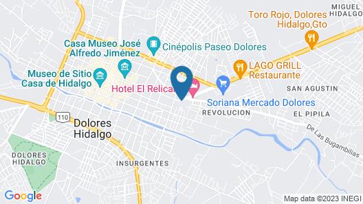 Posada Bonita Hotel SPA Map