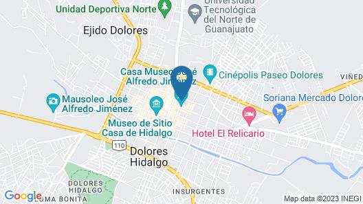 Hotel Casa Pozo del Rayo Map