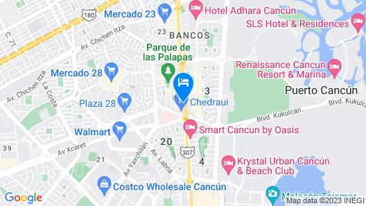 Hotel Rivemar Map
