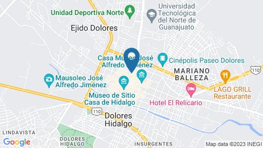Hotel CasaMia Map