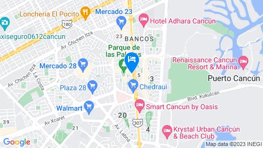 El Mechokan Colona Map