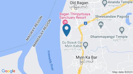 Bagan Thiripyitsaya Sanctuary Resort Map