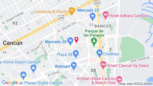 Suites Gaby Map