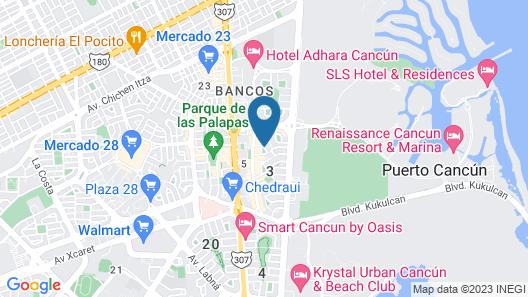 Enigmatic Hotel & Restaurant Bar Map