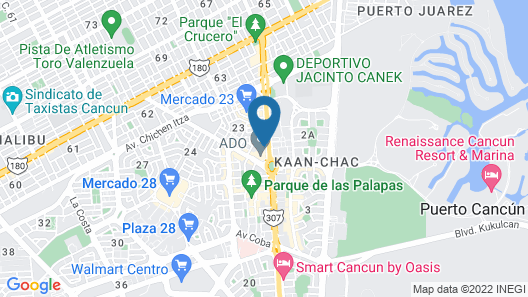 Smart Cancun by Oasis Map