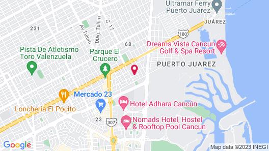 Hotel Hacienda de Castilla Map