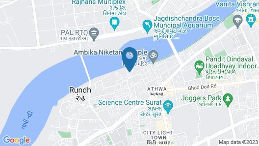 Surat Marriott Hotel Map