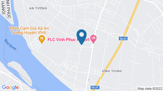 FLC Luxury Resort Vinh Phuc Map