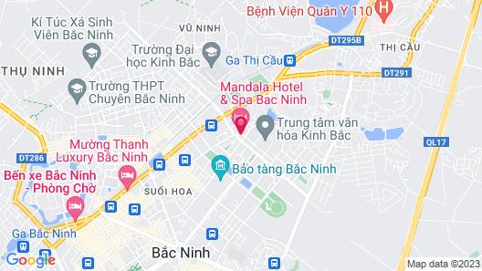 Mandala Hotel and Spa Map