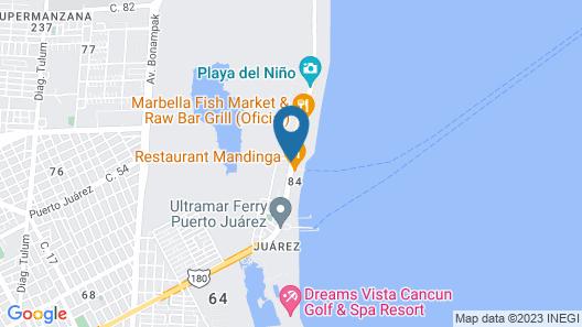 Hotel del Sol Map