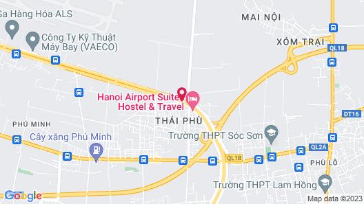La Suite Airport Hotel Map