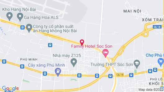 Anova Hotel Map