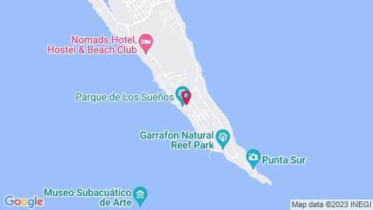 Casa de los Sueños Boutique Hotel Map