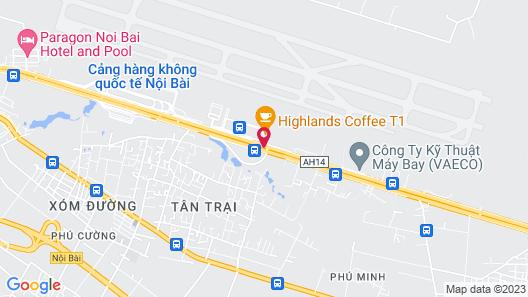 VATC SleepPod Terminal 1 Map