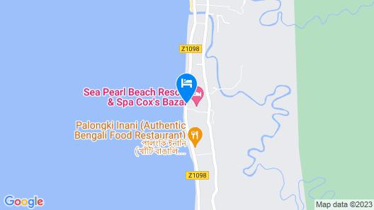 Sea Pearl Beach Resort & Spa Cox's Bazar Map
