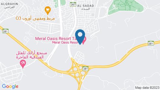 Meral Oasis Resort Taif Map