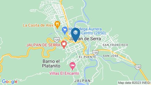 Misión Jalpan Map