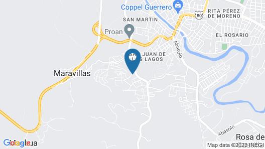 Hotel Riviera Map
