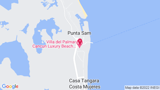 Secrets Playa Mujeres Golf & Spa Resort Map