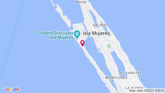 Zoetry Villa Rolandi Isla Mujeres Cancun - All Inclusive Map