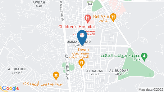 Boudl Taif Map