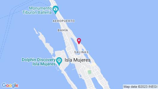 Casa Ixchel Map
