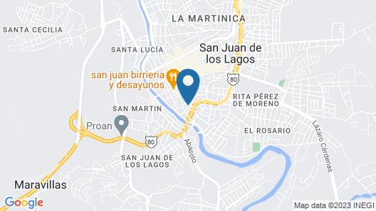 Hotel Colon Map