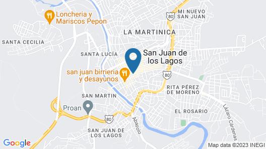 Hotel Gina Map