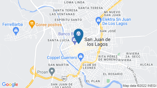 Hotel Romo Map