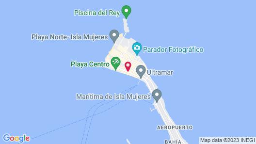 Sol Caribe Departamentos & Suites Map