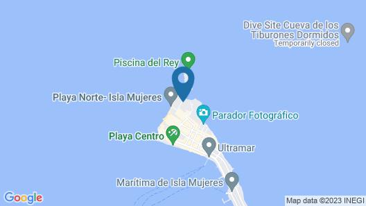 Na Balam Hotel Map