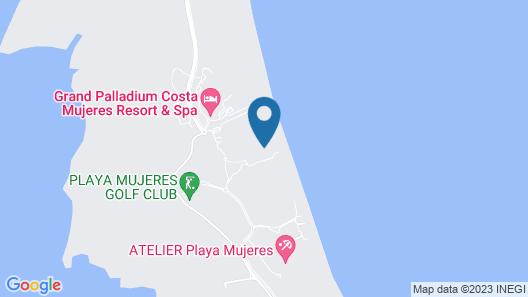 Dreams Playa Mujeres Golf & Spa Resort Map