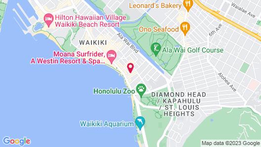 Waikiki Resort Hotel Map