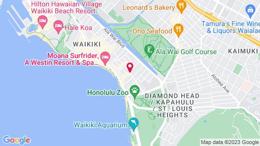 Hilton Waikiki Beach Map