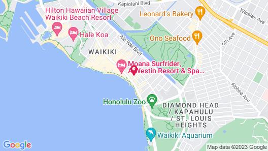 Stay Hotel Waikiki Map