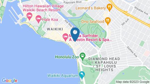 Royal Grove Waikiki Map