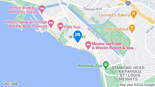 Sheraton Waikiki Map