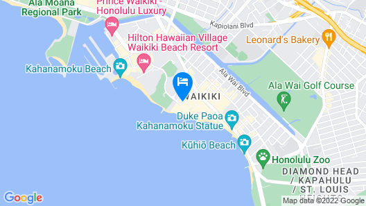 The Imperial Hawaii Resort Map