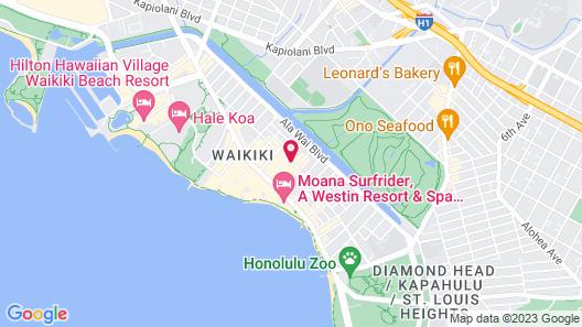 Kuhio Banyan Club Map