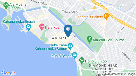 Kuhio Banyan Club Map