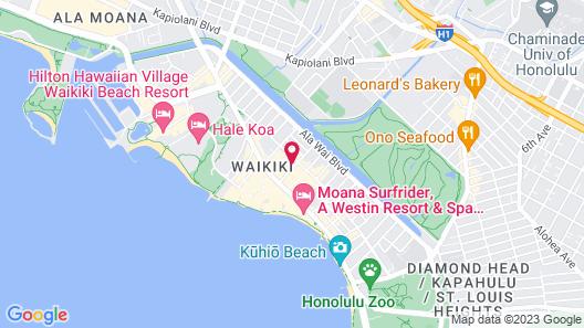 Waikiki Place - the Place to be in Waikiki Map