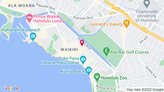 White Sands Hotel Map