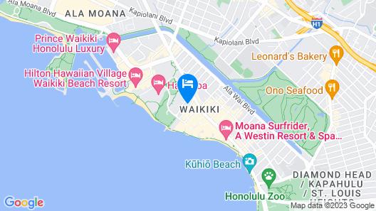 Pagoda Waikiki Map