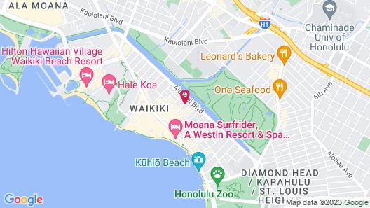 Ilima Hotel Map