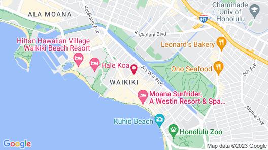 Waikiki Malia by Outrigger Map