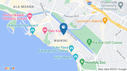 OHANA Waikiki Malia by Outrigger Map