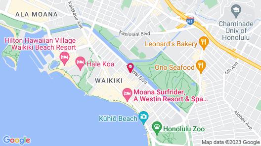 Aqua Skyline at Island Colony Map