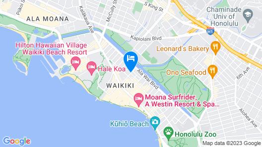 The Surfjack Hotel & Swim Club Map