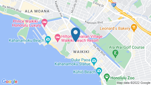 The Ritz-Carlton Residences, Waikiki Beach Map